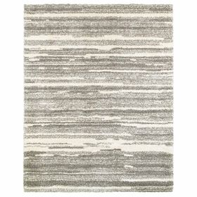 Picture of A345 Lizzy Grey Ombre Shag Rug