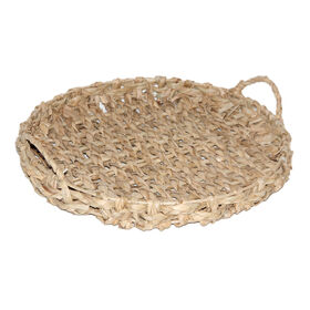 Picture of OV ROUND SEAGRASS TRAY SM 16