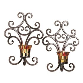Picture of Set of Two Truffle Wall Sconces