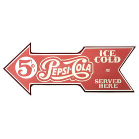 Picture of 8 X 20-in Pepsi Served Here Sign