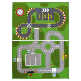 Picture of Rectangular Children's Accent Rug 26 X 40-in