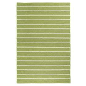 Picture of Green Avery Stripe Rug 5 X 7 ft