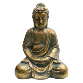 Picture of 16IN MGO SITTING BUDDHA PTGOLD