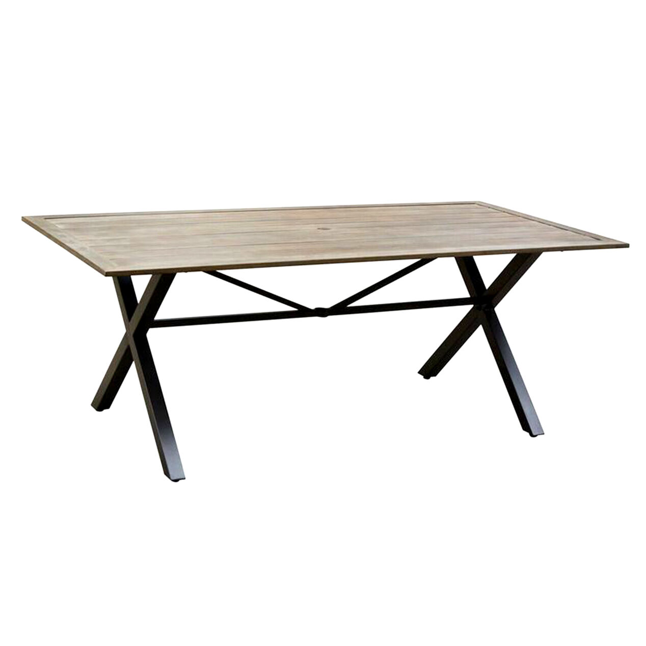 Highland terrace dining table 74x39 in at home for Terrace table
