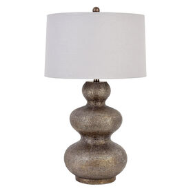Picture of 3-Tier Bronze Ball Table Lamp (shade sold separately)