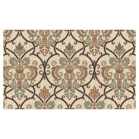 Picture of Framed Damask Doormat 20 X 40-in
