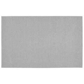 Picture of Solid Silver Town Square Accent Rug 21 X 34-in