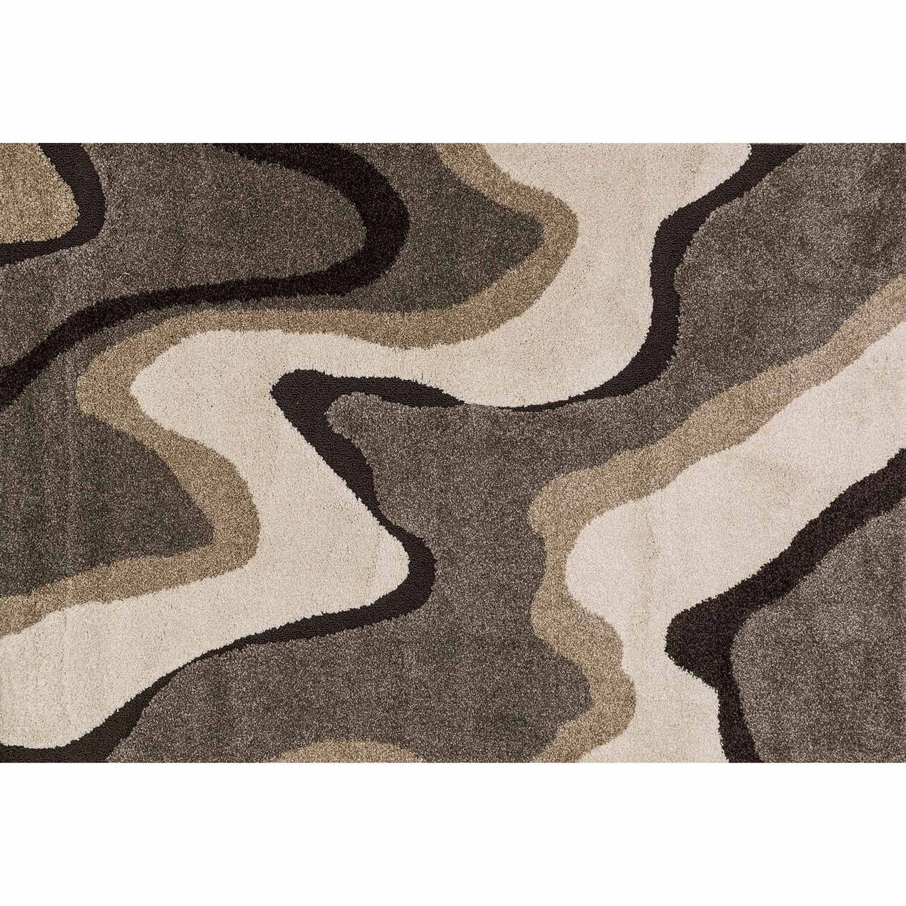 A280 Sydney Waves Multi Rug 8x10 Ft At Home
