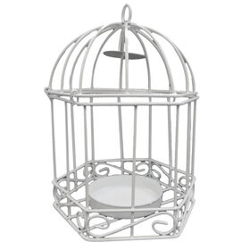 Picture of 5.25IN WHITE BIRDCAGE