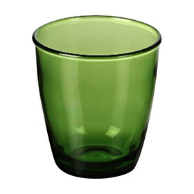 Picture of Green Bandeau Double Old Fashion Glass- 15 oz