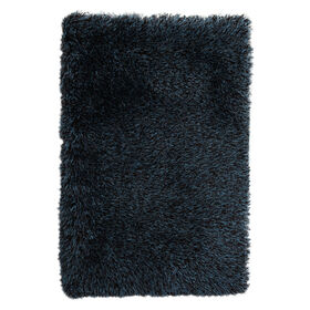 Picture of C18 Chocolate and Teal Shag Rug
