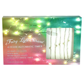 Picture of 20 FAIRY LIGHT LED SILVR TIMER