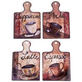 Picture of Cup/ Saucer Paddle Trivet- Assortment of 4