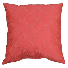 Picture of Coral Embossed Pillow - 18in