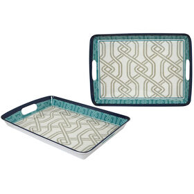 Picture of 18  REC SERV TRAY  IN STITCHES