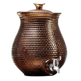 Picture of Honeycomb Beverage Dispenser, Bronze