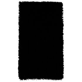 Picture of Black Shag Accent Rug- 24x43 in.