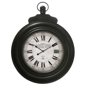Picture of 24 X 33-in Black Pocket Watch Clock