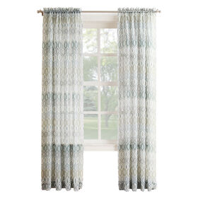 Picture of Mineral Larson Viole Window Curtain Panel 84-in