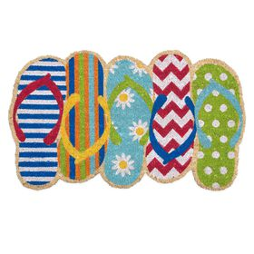 Picture of 18X30 COIR FLIP FLOPS SHAPED