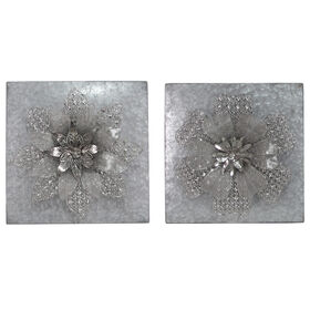 Picture of 16 X 16-in Galvanized Flower