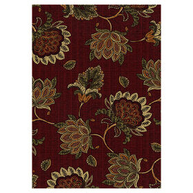 Picture of D164 Burgandy Justina Rug
