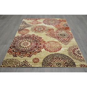 Picture of B307 OPUS MEDALLION  RED 5X7