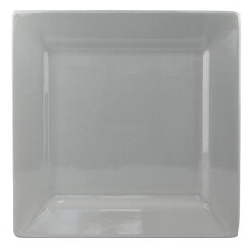 Picture of S/4 SQR DINNER PLATE GRAY