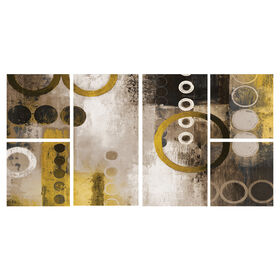 Picture of 24 X 48-in Yellow Liberated Gallery Art- 6 Pack