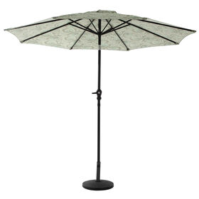 Picture of Crank Tilt Merona Latte Umbrella- 9-ft