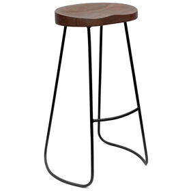 Picture of Gavin Barstool, Chestnut Wood, 30-in