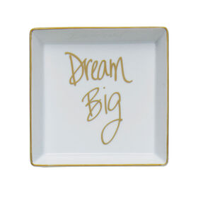 Picture of Square Porcelain Tray- Dream 5.5-in