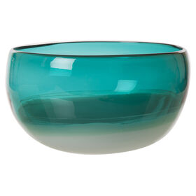 Picture of GLS TURQ OMBRE BOWL 5X9