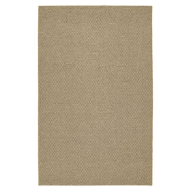Picture of Solid Beige Town Square Accent Rug 21 X 34-in