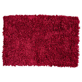 Picture of Red Paper Shag Rug 3 X 5 ft
