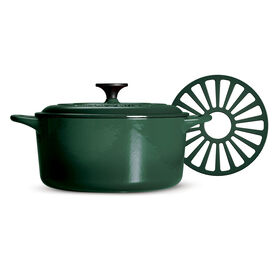 Picture of Green Covered Dutch Oven- 5.5QT.