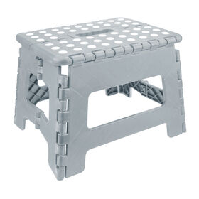 Picture of Light Grey Medium Folding Step Stool