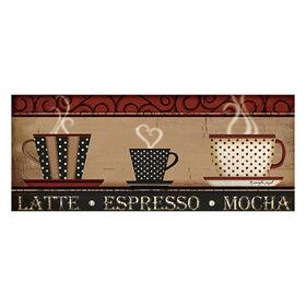 Picture of 12 X 36-in Latte Mocha Café Studio Art