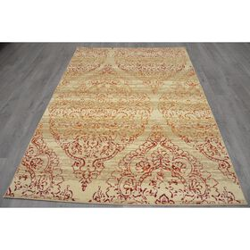 Picture of B280 LUNA DAMASK RED 3X5