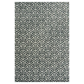 Picture of A204 Gray Arrow Rug