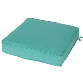 Picture of Teal Peacock Single Deep Seat Cushion