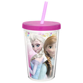 Picture of 13 oz Frozen Tumbler with Straw