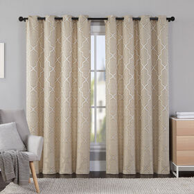 Picture of Hudson Gold Curtains- 54 x 84-in
