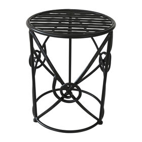 Picture of TWISTED WROUGHT IRON RND TBL-S