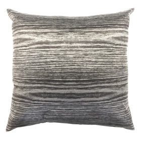 Picture of Distressed Wood Brown Decorative Pillow- 18-in
