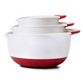Picture of 3 Piece Mixing Bowl Set, White