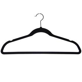 Picture of Flocked Velvet Suit Clothing Hanger- 50-Pack
