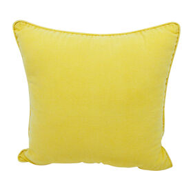 Drifter Corded Pillow - Yellow, 18-in.