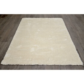 Picture of C75 White Cosmo Shag Rug