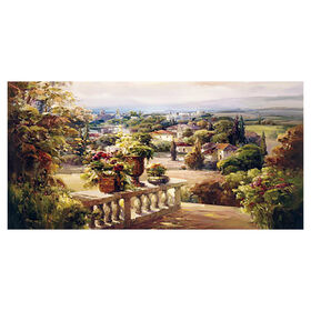 Picture of Balcony Paradise Gallery Art- 36x60 in.